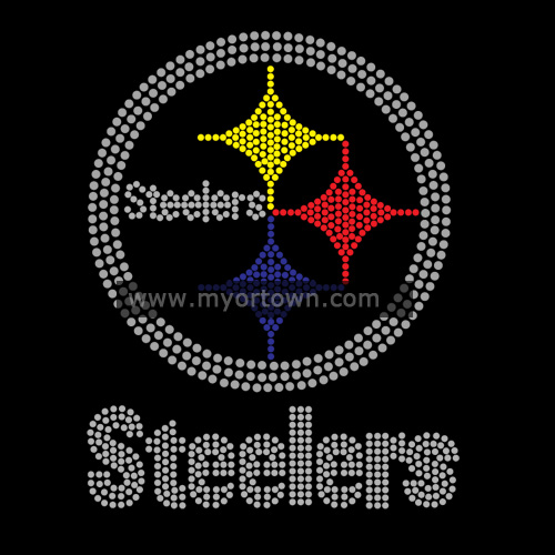 Pittsburgh Steelers Rhinestones Wholesale For Sale 30 Lot