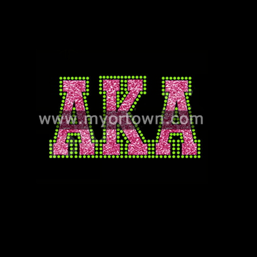 Shining Glitter Aka Rhinestone Iron On Motifs For Tshirts