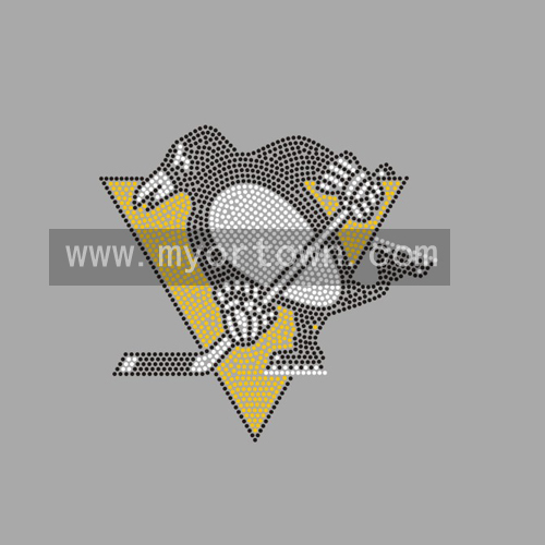 info for 2a8ba 2a873 Pittsburgh Penguins rhinestone iron on custom transfers ...