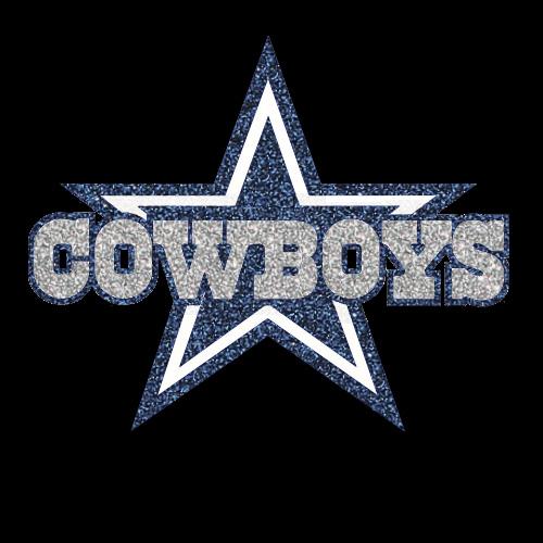 Dallas Cowboys Star Logo Iron On Vinyl Or Glitter Heat