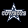 DALLAS COWBOYS STAR Logo Iron On Vinyl Or Glitter Heat Wholesale 30pcs/lot
