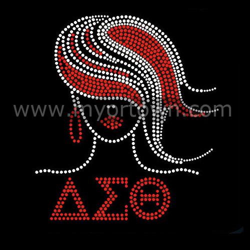 Aeo girl custom rhinestone transfer design for t shirts for Custom t shirt transfers
