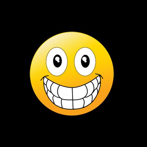 Emoji Big Smile Iron On Heat Transfer Design Wholesale For