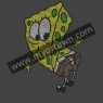 SPONGE BOB Inspired Fan Art Rhinestone Iron On Transfer Hot Fix Bling  30pcs/lot