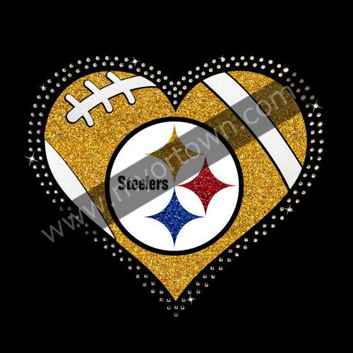 Wholesale Pittsburgh Steelers Rhinestone Glitter Bling