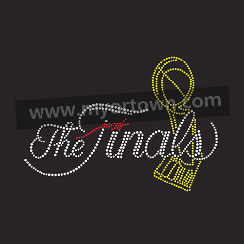 Wholesale The NBA Finals Rhinestone Iron On Transfer Hot
