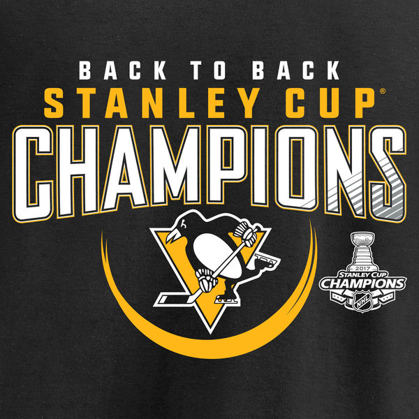 Fanatics Branded Pittsburgh Penguins Black 2017 Stanley Cup