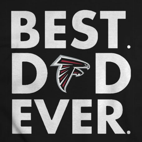 photograph about Best Printable Vinyl called Atlanta Falcons Easiest Father At any time Printable Vinyl Warm Go